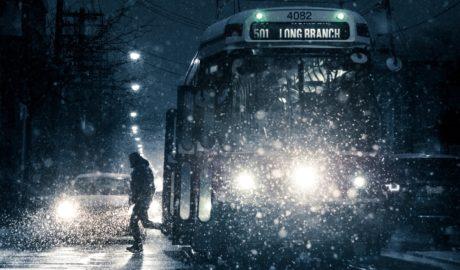 冬のトロントの風景